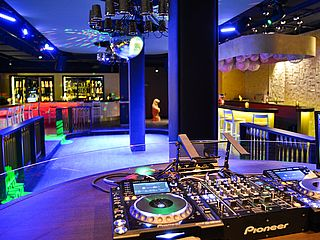 DJ-Pult ADIAMO Dance Club GOP Varieté Theater Bremen