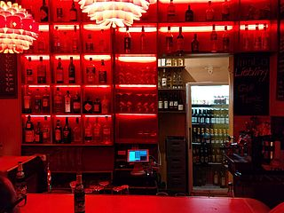 Hamburg Imoto Bar Rückwand