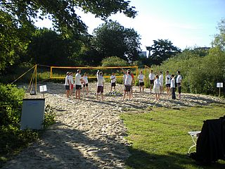 Volleyballfeld Beach Club White Pearl Bremen